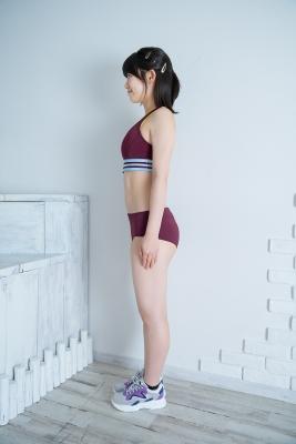 Risa Sawamura track and field team uniform038