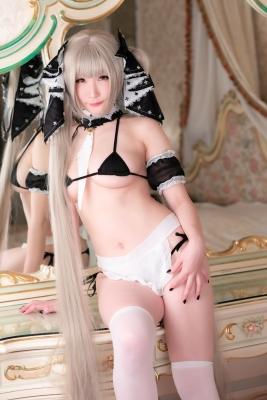 Maid Black Bikini My Suite012