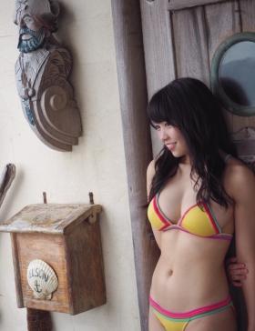 Yuuno Ohara Swimsuit Gravure I m here008