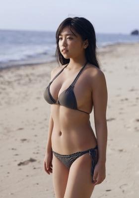 Yuuno Ohara Swimsuit Gravure I m here037