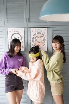 Everyones challenge to a good laugh Swimsuit gravure Haruka Arai Goto Masakura Kikuchi Hina Hayakawa Nagisa Otsuki Riko Miss Maga 2020002