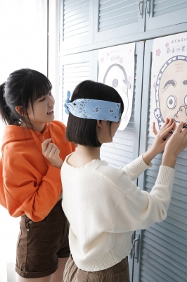 Everyones challenge to a good laugh Swimsuit gravure Haruka Arai Goto Masakura Kikuchi Hina Hayakawa Nagisa Otsuki Riko Miss Maga 2020007