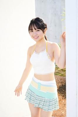 Shiori Ikemoto Swimsuit Gravure 001