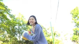 Minami Yamada Swimsuit Gravure Beach Volleyball Sunset Beach 2020008