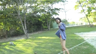 Minami Yamada Swimsuit Gravure Beach Volleyball Sunset Beach 2020011