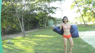 Minami Yamada Swimsuit Gravure Beach Volleyball Sunset Beach 2020012