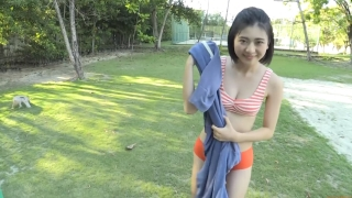 Minami Yamada Swimsuit Gravure Beach Volleyball Sunset Beach 2020015