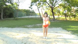 Minami Yamada Swimsuit Gravure Beach Volleyball Sunset Beach 2020021