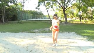 Minami Yamada Swimsuit Gravure Beach Volleyball Sunset Beach 2020022