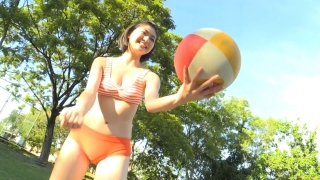 Minami Yamada Swimsuit Gravure Beach Volleyball Sunset Beach 2020025
