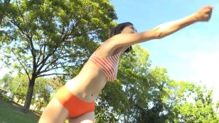 Minami Yamada Swimsuit Gravure Beach Volleyball Sunset Beach 2020026
