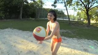 Minami Yamada Swimsuit Gravure Beach Volleyball Sunset Beach 2020030