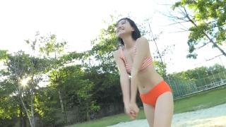 Minami Yamada Swimsuit Gravure Beach Volleyball Sunset Beach 2020039