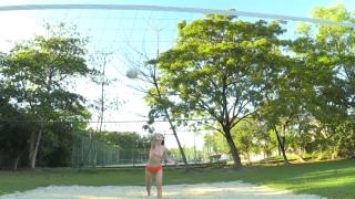 Minami Yamada Swimsuit Gravure Beach Volleyball Sunset Beach 2020037