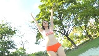 Minami Yamada Swimsuit Gravure Beach Volleyball Sunset Beach 2020044