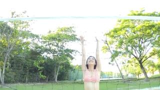 Minami Yamada Swimsuit Gravure Beach Volleyball Sunset Beach 2020050