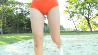 Minami Yamada Swimsuit Gravure Beach Volleyball Sunset Beach 2020053
