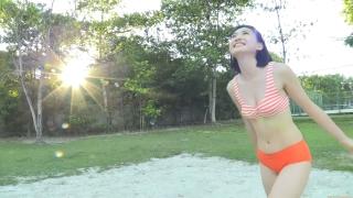 Minami Yamada Swimsuit Gravure Beach Volleyball Sunset Beach 2020055