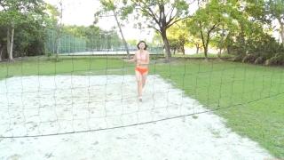 Minami Yamada Swimsuit Gravure Beach Volleyball Sunset Beach 2020059