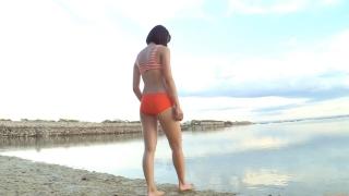 Minami Yamada Swimsuit Gravure Beach Volleyball Sunset Beach 2020073