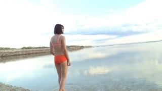 Minami Yamada Swimsuit Gravure Beach Volleyball Sunset Beach 2020074