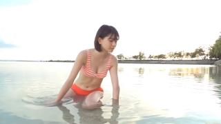 Minami Yamada Swimsuit Gravure Beach Volleyball Sunset Beach 2020085