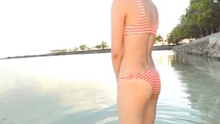 Minami Yamada Swimsuit Gravure Beach Volleyball Sunset Beach 2020130