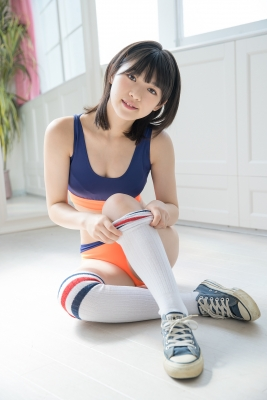 Risa Sawamura, track and field team uniformgrayorange, sportswear026