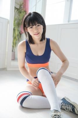 Risa Sawamura, track and field team uniformgrayorange, sportswear028