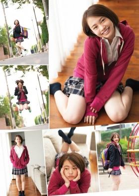 Ayuna Nitta Swimsuit Gravure Cute high school girl 2021002