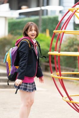 Ayuna Nitta Swimsuit Gravure Cute high school girl 2021010