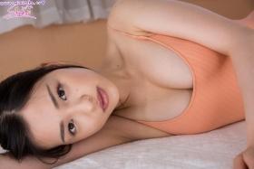 Shizuka Miyazawa Swimming Race Swimsuit Images Orange028