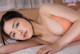 Shizuka Miyazawa Swimming Race Swimsuit Images Orange030
