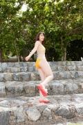 Nice bodied JK heroine Rio Sugawara gravure swimsuit image037