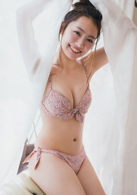Current music college student with less than a year of experience gravure magazine Miura Umi,gravure swimsuit image016