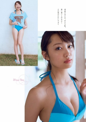 Current music college student with less than a year of experience gravure magazine Miura Umi,gravure swimsuit image033