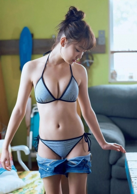 Current music college student with less than a year of experience gravure magazine Miura Umi,gravure swimsuit image073