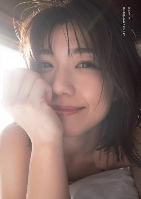 Yuki Fujiki swimsuit gravure Hot spring travel sentiment 2021006