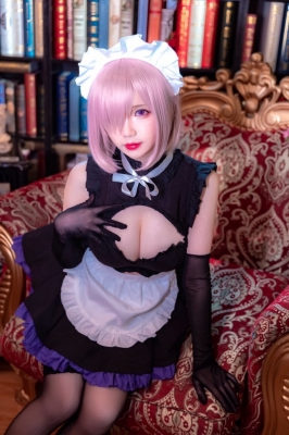 Cosplay Swimsuit Style Costume Marsh Kirielight Sakura Magiri Saber Glasses Maid FateGrand Order FGO022