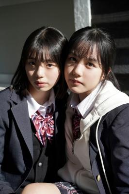Goto Mashiro Kikuchi Hina Swimsuit Gravure Good friends JK duo 2021003