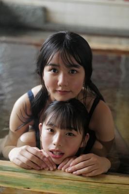 Goto Mashiro Kikuchi Hina Swimsuit Gravure Good friends JK duo 2021010