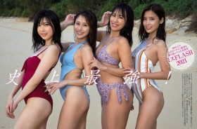 Miss FLASH2021 Swimsuit Gravure The strongest 4 people in history Takatsuki Miho Natori Kurumi Kirishima Seiko Masuda Anne 2021001