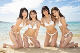 Miss FLASH2021 Swimsuit Gravure The strongest 4 people in history Takatsuki Miho Natori Kurumi Kirishima Seiko Masuda Anne 2021012