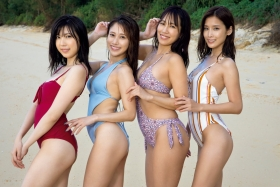 Miss FLASH2021 Swimsuit Gravure The strongest 4 people in history Takatsuki Miho Natori Kurumi Kirishima Seiko Masuda Anne 2021010