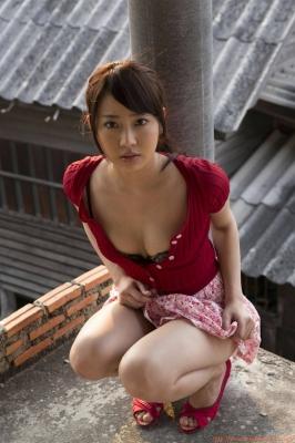 Asakura Mina Gravure Swimsuit Images014