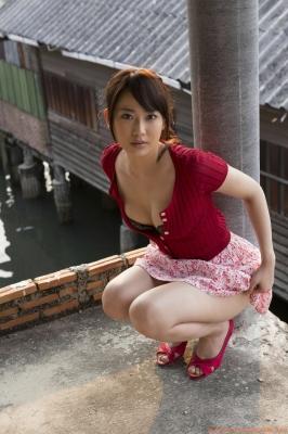 Asakura Mina Gravure Swimsuit Images025