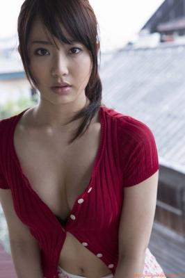 Asakura Mina Gravure Swimsuit Images030