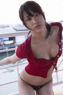 Asakura Mina Gravure Swimsuit Images045