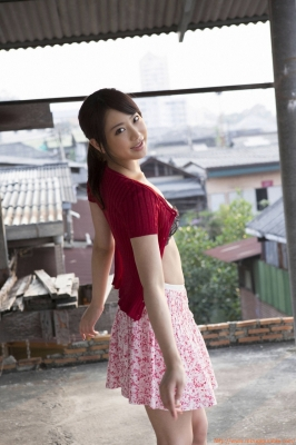 Asakura Mina Gravure Swimsuit Images048