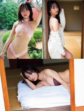 Aimori Chie swimsuit gravure Hmm thats cute004